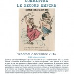 Combattre le Second Empire
