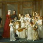 Salon 1810 : Arrivée de l'impératrice Marie-Louise à Compiègne le 28 mars 1810