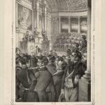 Die Eidesablegung des Prâsidenten Ludwig Buonaparte