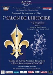 7e salon de l'Histoire « en littérature »