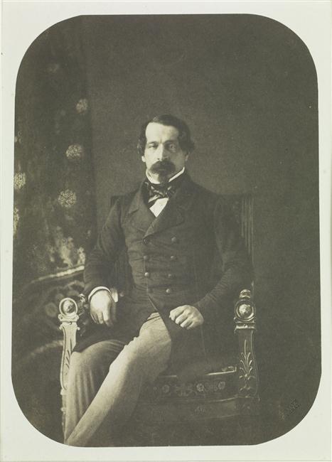 Portrait du Prince-Président, par G. Le Gray © RMN-Grand Palais (Sèvres, Cité de la céramique) / Martine Beck-Coppola