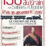 Les 150 ans du train au Sables d'Olonne