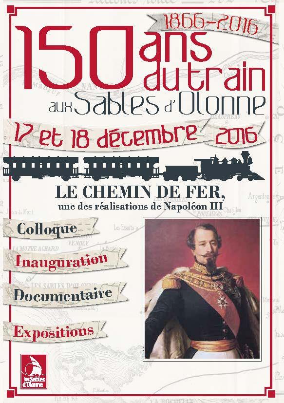 Les 150 ans du train au sables d 39 olonne - Programme tv 17 decembre 2016 ...