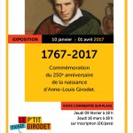 1767-2017: Commemoration of 250th anniversary of the birth of Anne-Louis Girodet