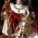 Napoléon Ier sur le trône impérial