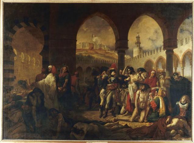 Antoine-Jean Gros Bonaparte visitant les pestiférés de Jaffa