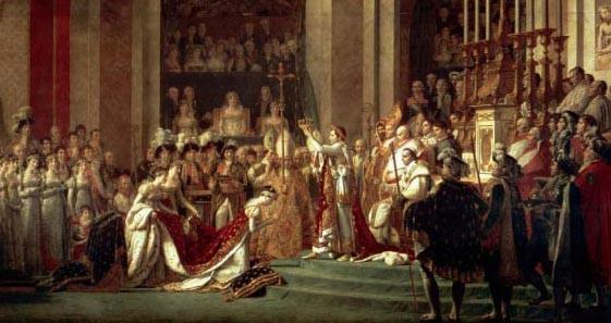 Jacques Louis David - Le sacre de Napoléon Ier