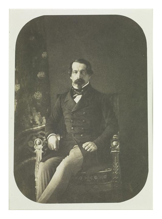 Gustave Le Gray, Prince-President Louis-Napoleon, 1852
