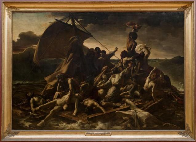 Théodore Géricault - Le Radeau de La Méduse - 1818 © Musée du Louvre, Dist. RMN-Grand Palais - Angèle Dequier