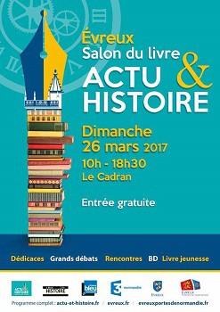 Salon du livre d'Évreux : Actu & Histoire 2017