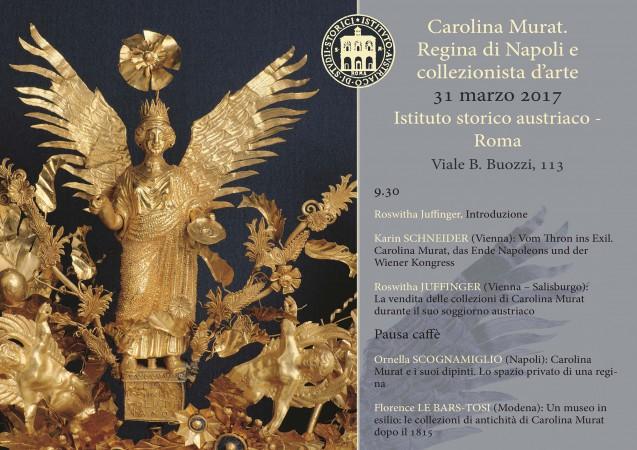 Caroline Murat, Queen of Naples and art collector (in Rome)