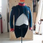 Restaurer et mettre en scène l'uniforme de Napoléon à Sainte-Hélène (mars 2017)