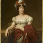 Portrait de Germaine Necker, baronne de Staël-Holstein, dite madame de Staël (1766-1817)