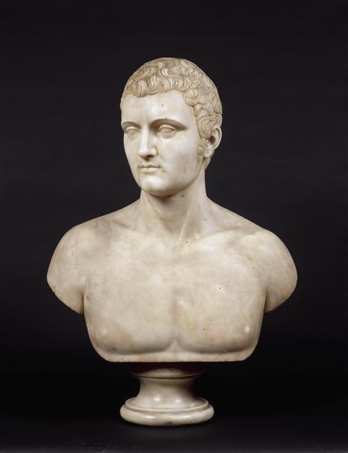 Joseph-Charles Marin, buste de Charles-Marie Bonaparte © RMN-Grand Palais - Gérard Blot
