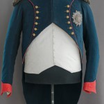 Presentation of Napoleon's Chasseur Colonel Uniform and bicorne hat