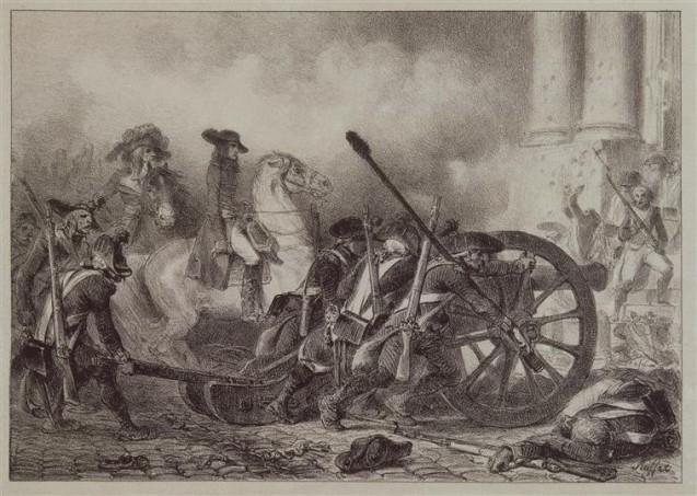 13 Vendémiaire, Saint Roch, 1795 © RMN-Grand Palais (musée des châteaux de Malmaison et de Bois-Préau) Gérard Blot