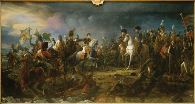 Bataille d'Austerlitz, 2 décembre 1805 © RMN-Grand Palais (Château de Versailles) Droits réservés