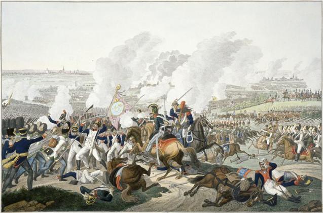 d'après Klein Johann Adam - Bataille de Leipzig, les 16, 18 et 19 octobre 1813 © Paris - Musée de l'Armée, Dist. RMN-Grand Palais image musée de l'Armée