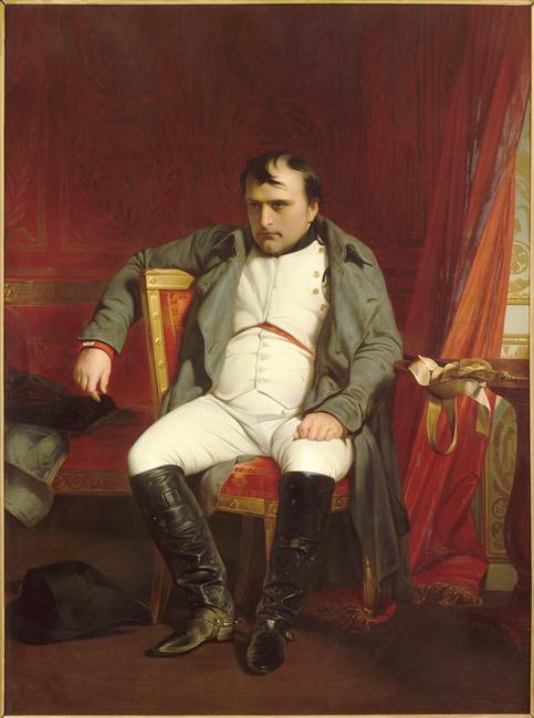 Delaroche - Napoléon à Fontainebleau, le 31 mars 1814 © Paris - Musée de l'Armée, Dist. RMN-Grand Palais image musée de l'Armée