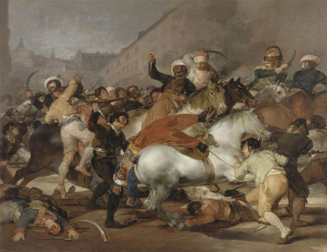 Goya - Le Deux mai 1808 à Madrid © Museo Nacional del Prado, Dist. RMN-GP image du Prado