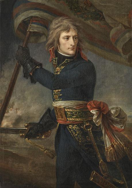 Le Général Bonaparte au pont d'Arcole, le 17 novembre 1796 © Château de Versailles, Dist. RMN-Grand Palais Christophe Fouin