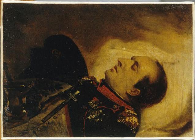 Mauzaisse - Napoléon Ier sur son lit de mort, le 5 mai 1821 © RMN-Grand Palais (musée des châteaux de Malmaison et de Bois-Préau) Michèle Bellot