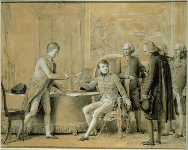 Signature du Concordat entre la France et le Saint-Siège, le 15 juillet 1801 © RMN-Grand Palais (Château de Versailles) Gérard Blot