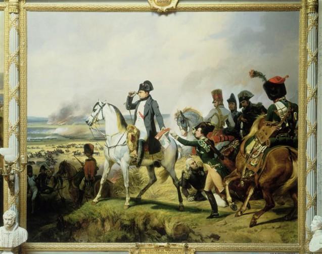 Vernet - Napoléon Ier à la bataille de Wagram, 6 juillet 1809 © RMN-Grand Palais (Château de Versailles) Droits réservés