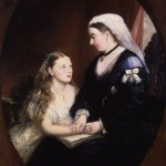 Portrait of Queen Victoria and Princess Beatrice of the United Kingdom