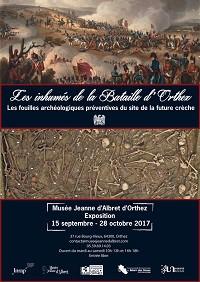 Les inhumés de la Bataille d'Orthez. Les fouilles archéologiques préventives du site de la future crèche