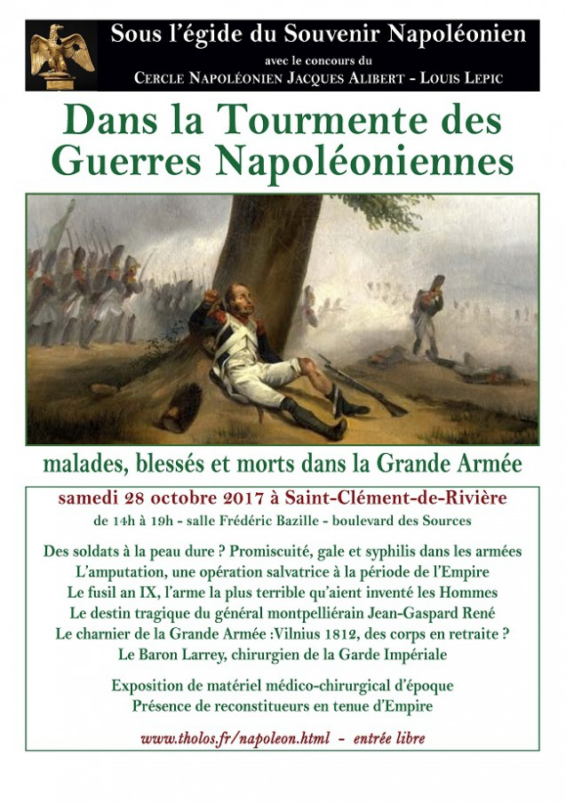 Dans la tourmente des guerres napoléoniennes : malades, blessés et morts dans la Grande Armée