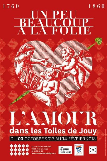 Un peu, beaucoup, à la folie. L'amour dans les toiles de Jouy de 1760 à 1860