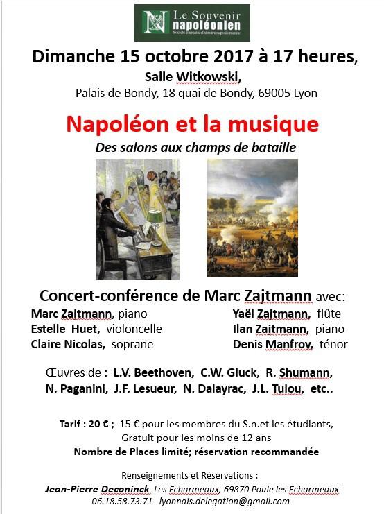 Napoléon et la musique