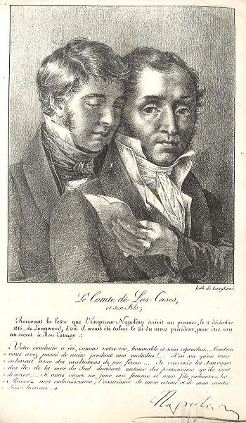 Les tribulations d'une lettre…  Les adieux de Napoléon au comte de Las Cases, Sainte-Hélène, 11 décembre 1816