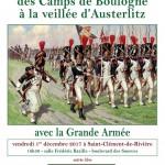 Des Camps de Boulogne à la Veillée d'Austerlitz avec la Grande Armée