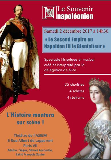 Le Second Empire ou Napoléon III le Bienfaiteur