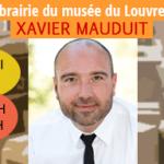 Xavier Mauduit en dédicace à la librairie du Louvre