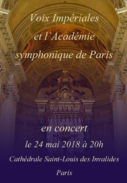 Cycle Musiques et paroles d'Empereur : concert des Voix impériales