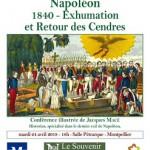 Napoléon – 1840 – l'Exhumation et le Retour des Cendres