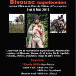Napoleonic bivouac weekend at Maisons-Laffitte, Paris