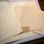 Napoleonic letters discovered in library in Ajaccio (April 2018)