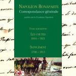 2002- 2018 : édition de la <i>Correspondance générale de Napoléon Bonaparte</i>