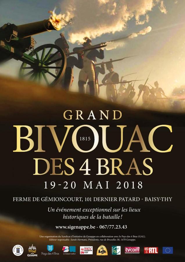 Grand bivouac des Quatre-Bras