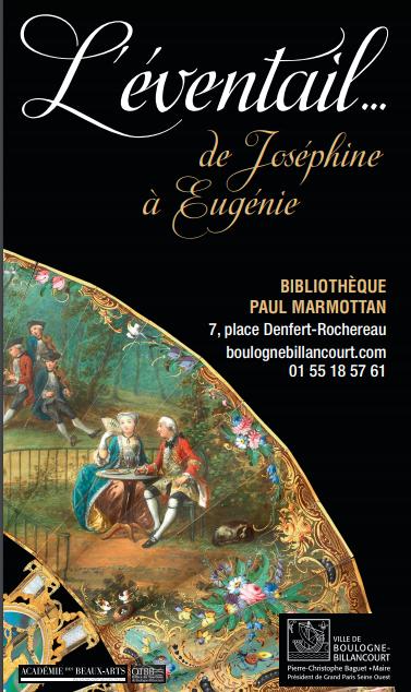 L'éventail… de Joséphine à Eugénie