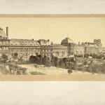 Photographie : 2 vues du palais des Tuileries 1855-1858