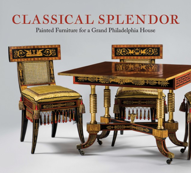 U201cThis Handsome Book Explores In Depth A Group Of Stunning Painted And Gilded  Furniture Designed By The Architect Benjamin Henry Latrobe (1764u20131820), ...