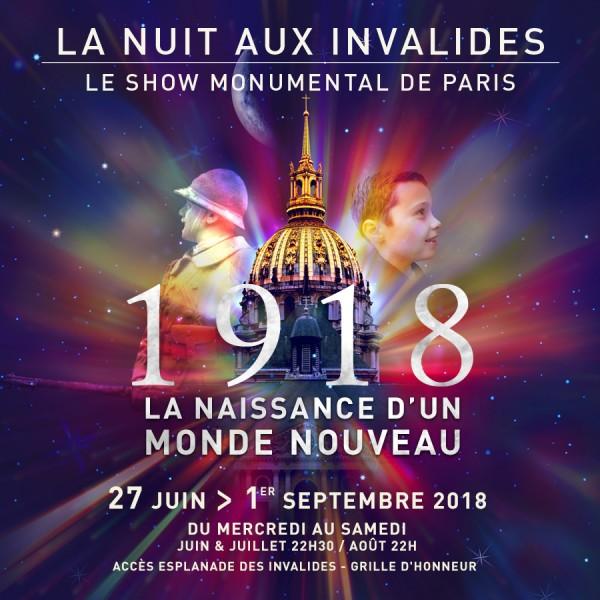 """""""La Nuit des Invalides"""" (sound and light show)"""