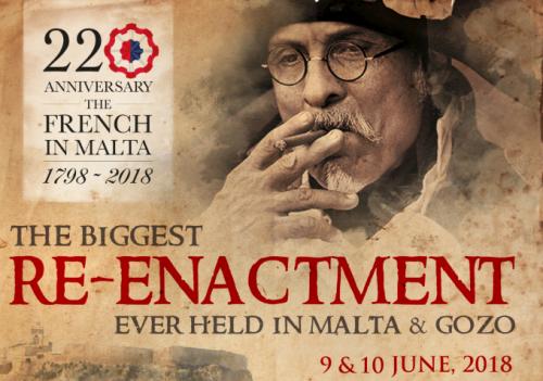 220th anniversary of the French Blockade of Malta