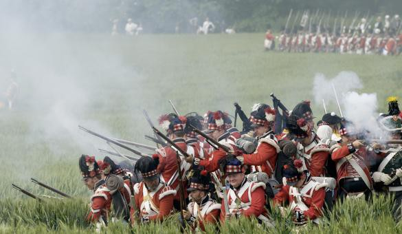 A historical weekend at the Battlefield of Waterloo