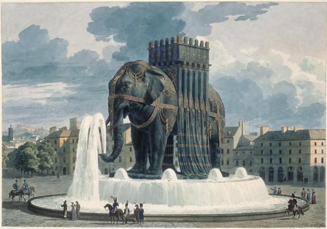 Le mystérieux Éléphant de la place de la Bastille